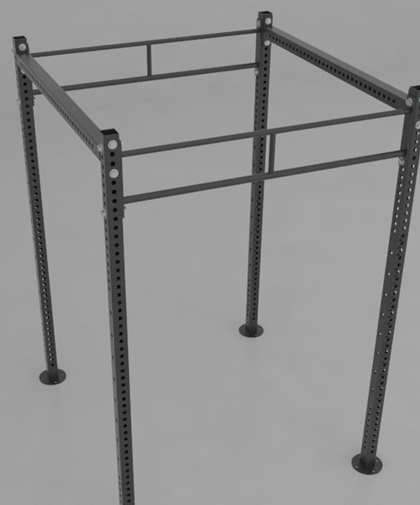 Free standing crossfit rigs